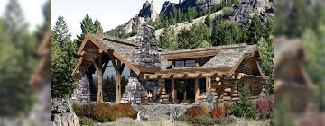 mountain log cabin house plans homeca