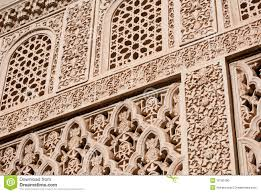 Moorish Design by Islamic Moorish Art Carved Stock Photo Image 16780190