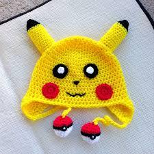 Pikachu Halloween Costume Kids Pikachu Hatcrochet Baby Hatgift Ideasgift Handmade75 Etsy