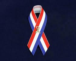 white and blue ribbon satin white and blue patriotic ribbon pins wholesale