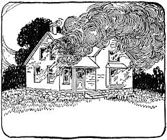 drawing a house 1 clipart etc clipart of a house on fire lemonize