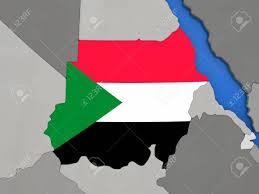 Old Sudan Flag Map Of Sudan U2014 Stock San Juan Airport Terminal Map Multiple Points