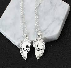 crystal heart pendant necklace images Online shop new mosaic crystal heart pendant necklace best friend jpg