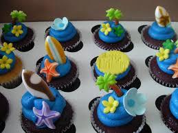 Cake Decorations Beach Theme - beach themed cupcakes roni cupcakes pinterest beach themed