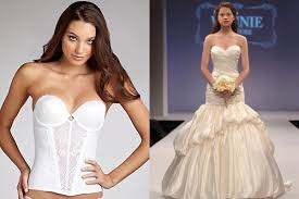bustier bra for wedding dress should i wear special wedding undergarments wedding newsday