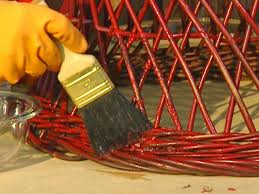 How To Strip Paint From Cabinets How To Remove Paint From Metal And Wicker How Tos Diy