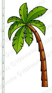 palm tree printable clipart