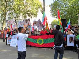 Oromo Flag London October 11 2016 4 Protest In Whitehall London By U2026 Flickr
