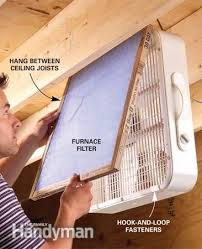 box fan filter woodworking 11 ways to keep your workshop neat and tidy common house plants