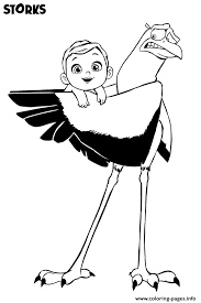 free baby coloring pages storks movie free with baby coloring pages printable