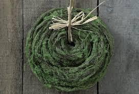 moss ribbon moss ribbon moss antique farmhouse