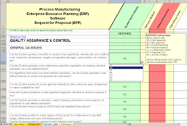 Quality Assurance Excel Template Erp Software Evaluation Selection Process Manufacturing Erp System