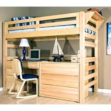 Bunk Bed With Desk And Trundle Wood Bunk Bed With Desk Wood Bunk Bed Desk Combo Modern Beds