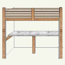 Free Loft Bed Woodworking Plans by Free Diy Woodworking Plans For Building A Loft Bed Afloat Ca U0027s