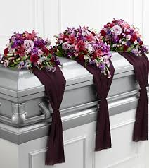 casket spray refreshing mix casket spray fleurs magique flowers