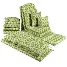 green bench cushion outdoor lime green 51 inch indoor and outdoor bench cushion seat