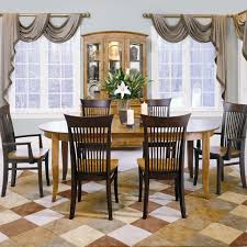 custom dining room table color café custom dining set 005 by thomasville adcock
