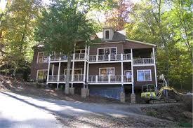 hillside cabin plans traditional house plans home design laurel ridge