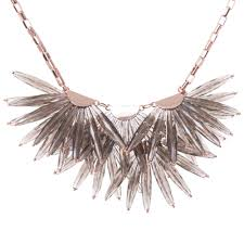 star statement necklace images Florenz star fringed necklace in black ted baker jewellery eqvvs jpg