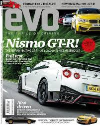 bmw magazine ads evo magazine september 2014 nismo gt r driven evo