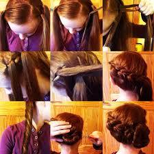 hairstyles for gymnastics meets ways 2 braid ways2braid tutorial 12 diagonal pull through