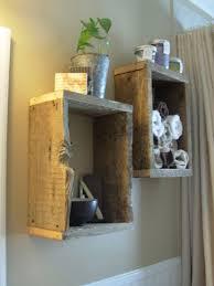 Wood Bathroom Shelves by 10 Simplicity Diy Bathroom Shelves Home Design And Interior