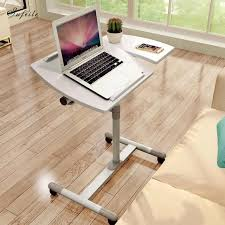 ordinateur portable bureau sufeile pliable table d ordinateur portable stand tour canapé lit