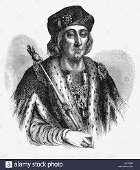 henry vii aka henry tudor king of england wales and lord of