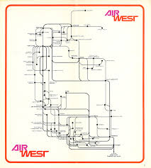 Piedmont Airlines Route Map by Early 1970 U0027s Flights Between Pdx U0026 Sea Airliners Net
