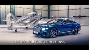 inside bentley where the future new continental gt the design new bentley continental gt youtube