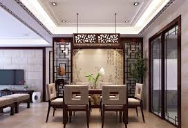 Dinner Table Set by Interior Modern White Dining Room Ceiling Lamps With Drum Pendant