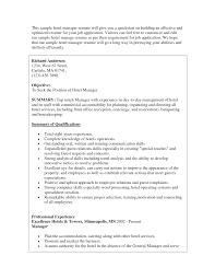Hotel Housekeeping Resume Housekeeper Resume Objective Splixioo