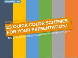 good colour schemes color schemes for powerpoint how to choose a good color scheme for