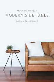 modern side table diy modern side table home made by carmona