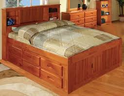 Captain Twin Bed With Storage Viv Rae Kaitlyn Captain Twin Storage Bookcase Bed With Trundle