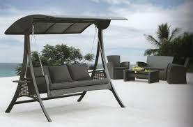 Santa Barbara Wicker Patio Furniture - daydreamer 3 seater wicker swing chair outdoor living