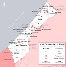 Michigan Map With Cities And Towns by Resource Map Of Gaza Strip Sixteen Minutes To Palestine
