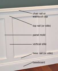 Chair Rail Ideas For Bathroom - installing wainscoting baseboards and chair rail decorative