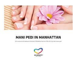 amazon com manicure u0026 pedicure in new york experience gift card