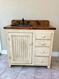 Rustic Bathroom Vanities And Sinks by Bathroom Vanity 36 Rustic Farmhouse Bathroom Vanity Fh1297