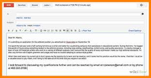Sample Email Cover Letter With Resume by Cover Letter Web Developer Format Of Covering Letter For Job