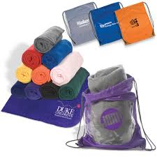 bar mitzvah favors this fleece blanket in a bag combo is always a hit as a favor brand