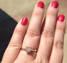 size 6 engagement ring show me your size 6 finger with your ring pics weddingbee