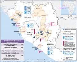 west africa map ebola ebola epidemic raging out of in west africa humanosphere