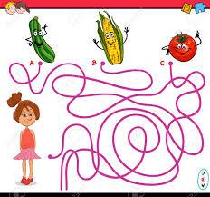 imagenes educativas animadas ilustración de dibujos animados de caminos educativos o laberinto