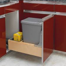 kitchen trash cabinet best kitchen trash can kitchenthe best examples modern kitchen