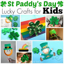 easy st patrick u0027s day crafts for kids red ted art u0027s blog