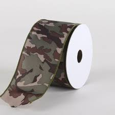 camouflage ribbon ribbon specialty ribbons camouflage satin wired ribbon