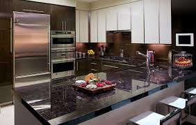 Black Corian Countertop Kitchen Remodeling Gallery