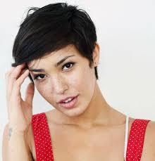 morena baccarin short pixie haircut 2017